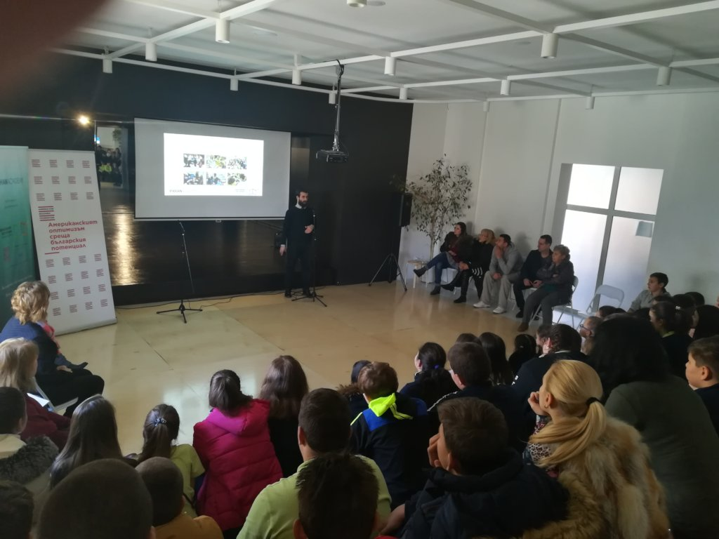 Presentation at the Primary School in Sveti Vlas
