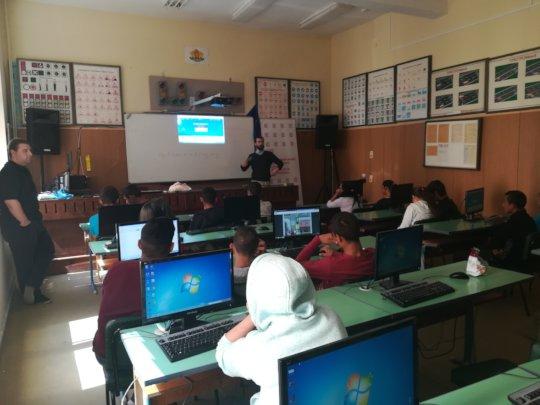 Presentation in Dolni Dabnik school