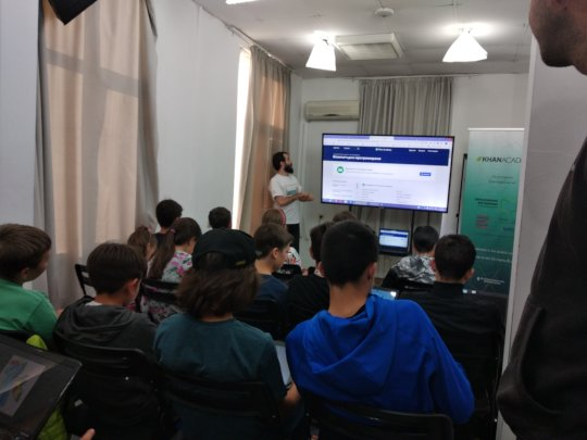 Moment from Draw with Khan Academy and JavaScript