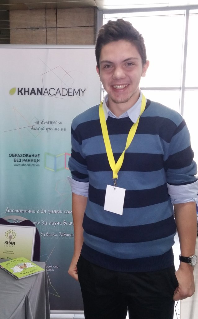 Kristian - a gold medalist in Linguistics