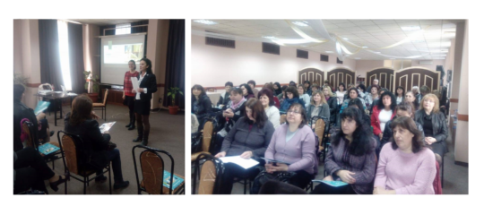 Presenting KA to teachers from North-West Bulgaria
