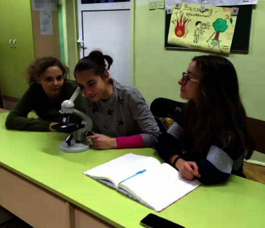 Microscopes for Sofia high schools