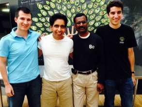 Meeting Salmon Khan and Khan Academy's team in US