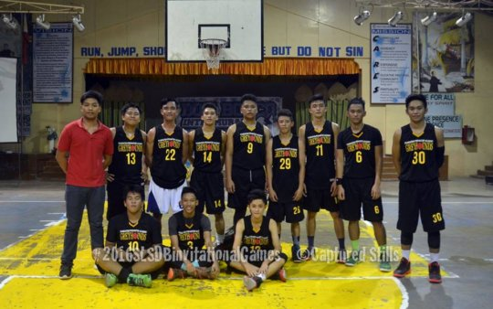Basketball Varsity Team