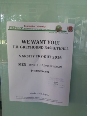 Basketball Varsity Tryout Schedule