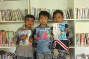 These kids have picked their favorite book
