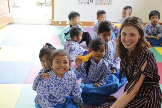 Jade,YUM Volunteer