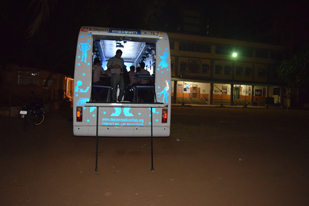Tech On Wheels For Night School Students In India