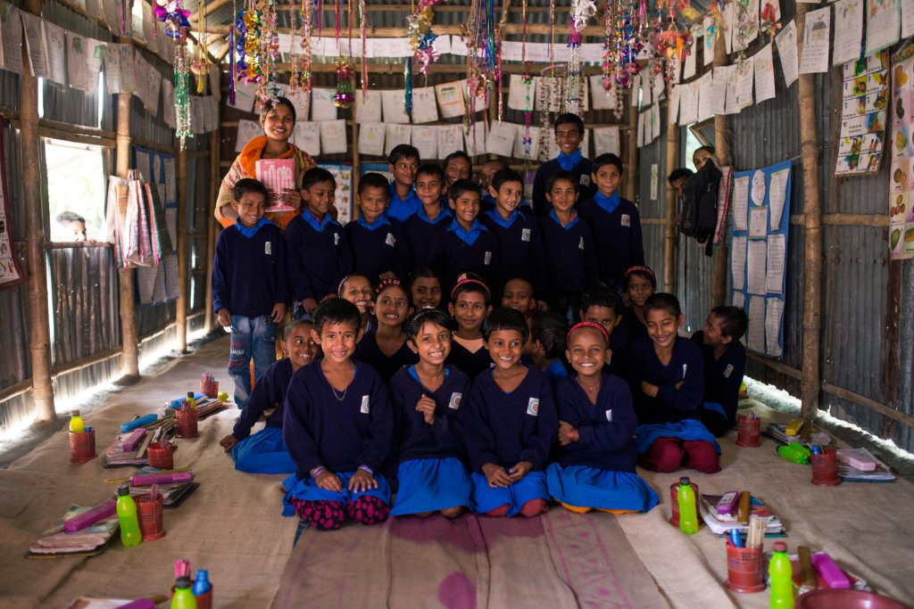 Adult Literacy Classes and Village Primary Schools