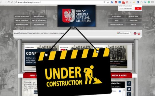 Kresy-Siberia Virtual Museum upgrade is underway.