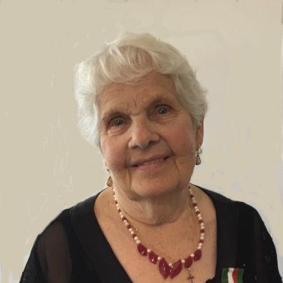 Survivor Franciszka Pakuza-Twarowska.