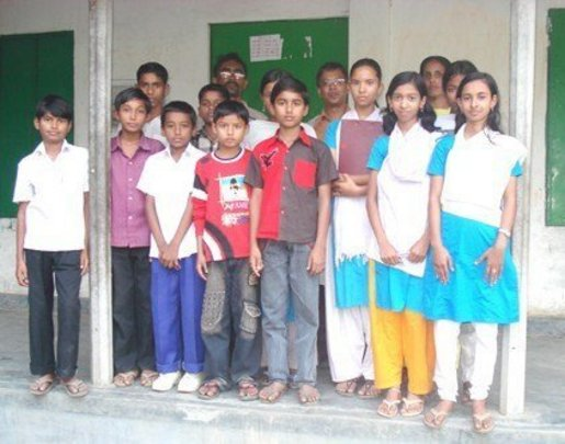 First Scholarship Recipients in Bangladesh, 2008