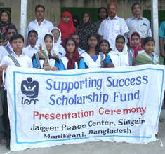 Scholarship Recipients with their Parents