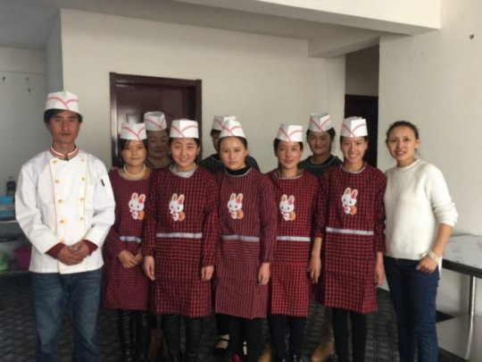 The MY FIRST JOB Vocational Cooking Program