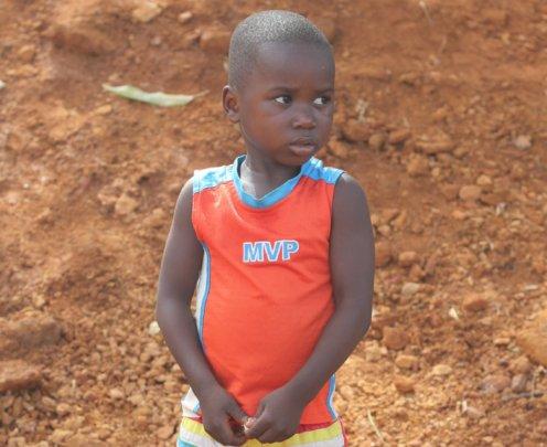 Help Orphan Derick Smile Again
