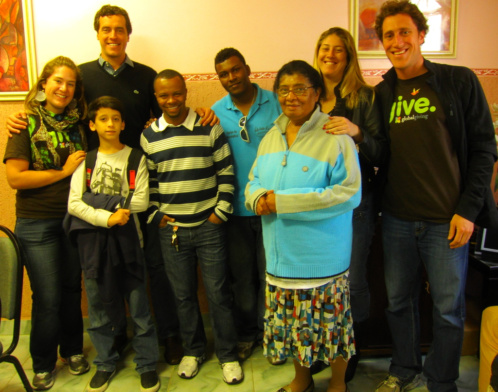 CEACA staff; Alexandre and Rodrigo Baggio (CDI)