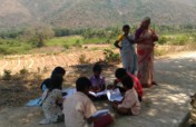 evening study centers for 400 Tribal children
