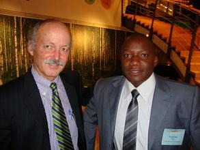 Fredrick with IYF President