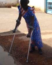 Elbow Crutch reciepient