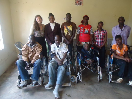 Support 100 disabled youth with Assistive devices.