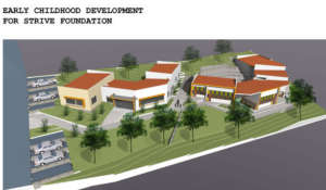 View of the planned ECD for Kirehe