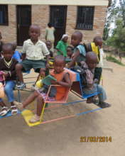 Children at One of the SFR ECD at Kamonyi