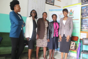 FAWEZI staff, beneficiary, teacher and school head