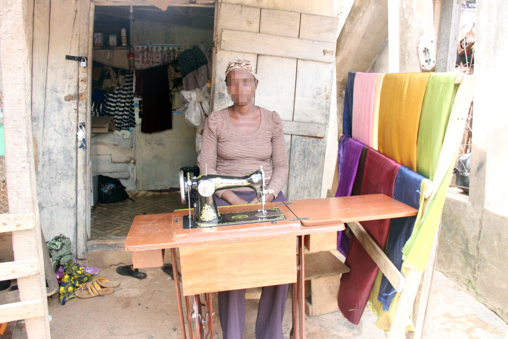 A shop owner in Ibadan