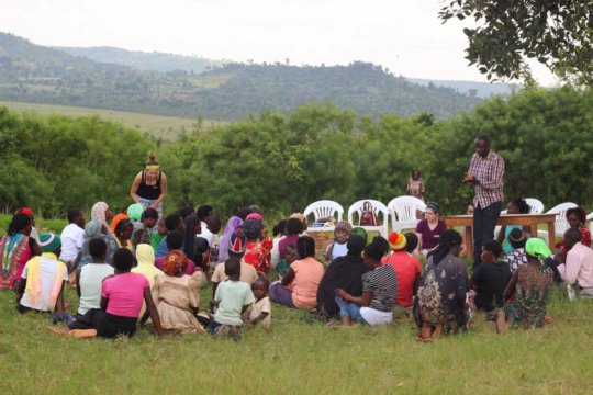 Community trainings hosted by Mountains of Hope