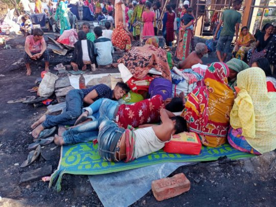 Homeless after the Topsia fire
