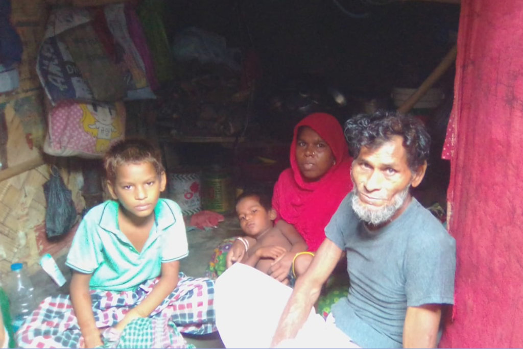 Mansur and family