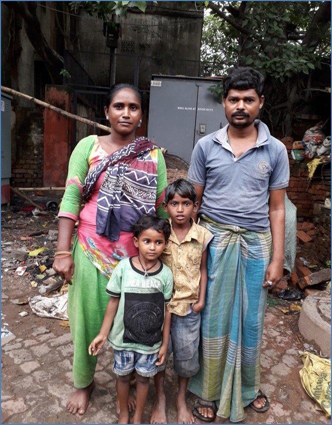 Arjina and Family