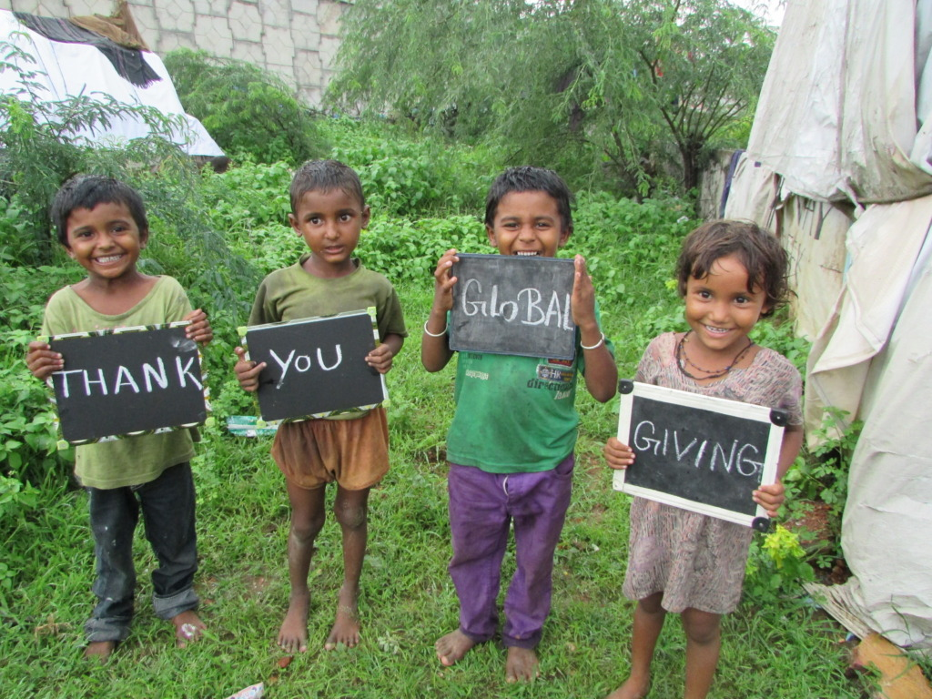 Thank you Global Giving