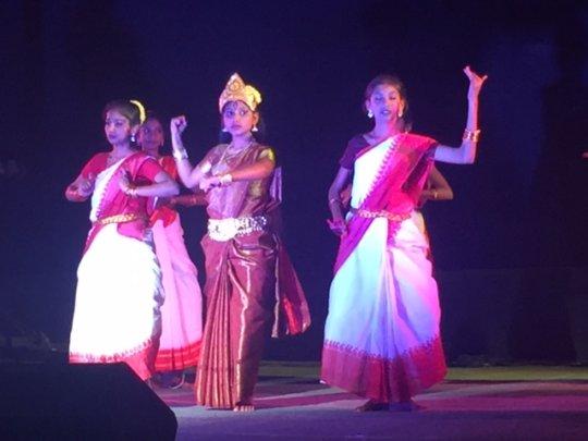 Durga pooja dance