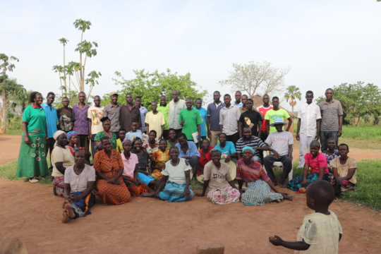 Farmers in Pamin Onon Village!