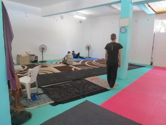 Ritsona Camp's Prayer Room