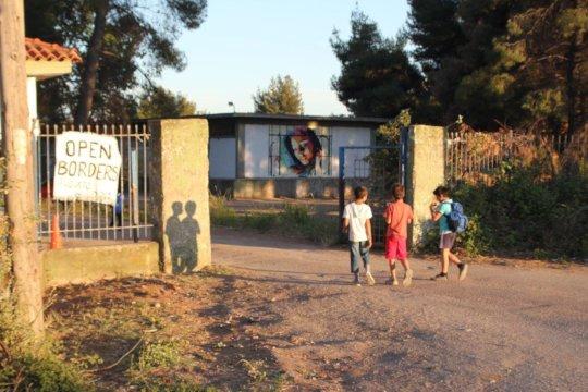 Ritsona Refugee Camp