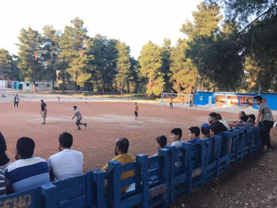Ritsona Camp Football Field