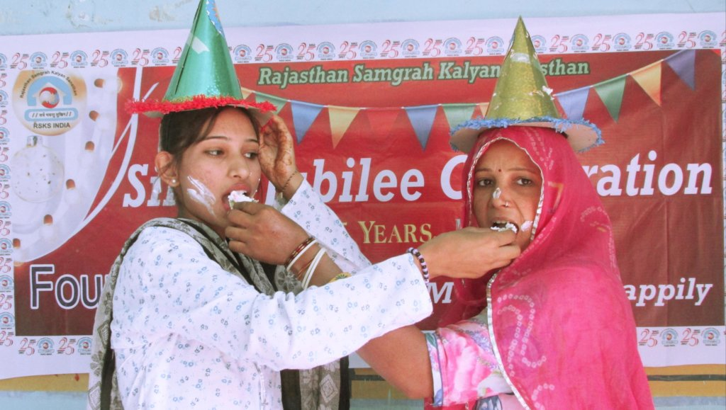 The Silver jubilee; May all live Happily !!