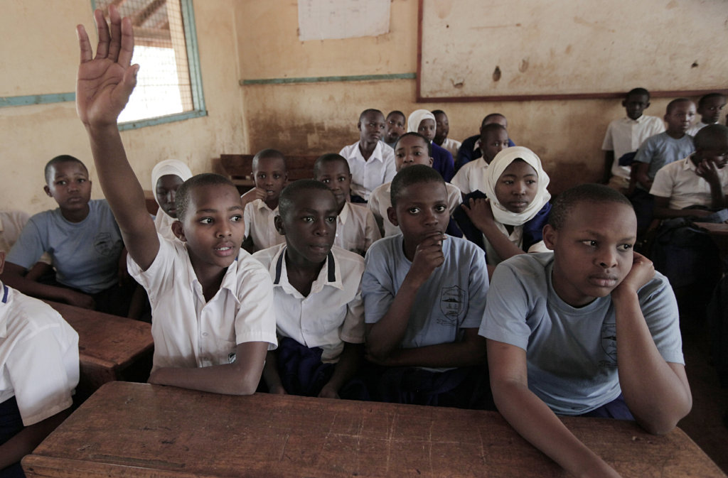 School farms to end child hunger, Tanzania