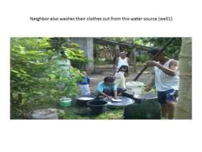 Community Members Using Water