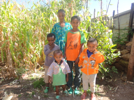 Temesgen and his family