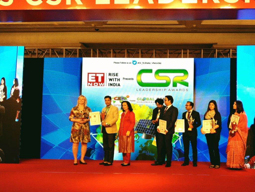 RSKS CEO Receiving Global NGO Leadership award