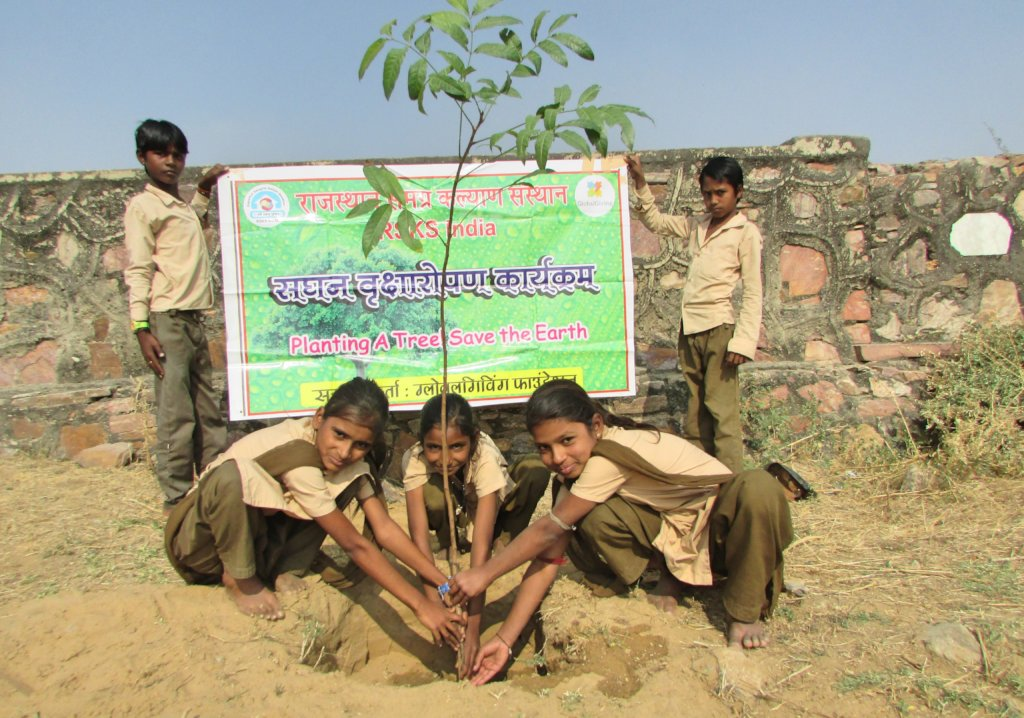 Plant A Tree Build A GreenLand !!