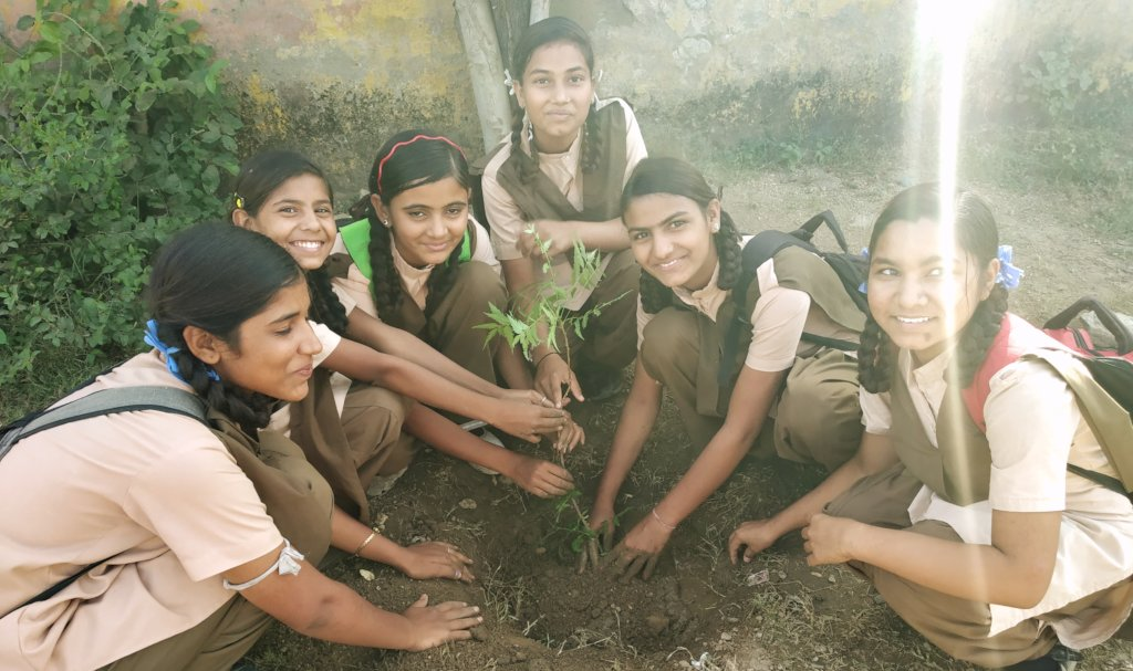 Tree Plantation with Giving Tuesday India !!