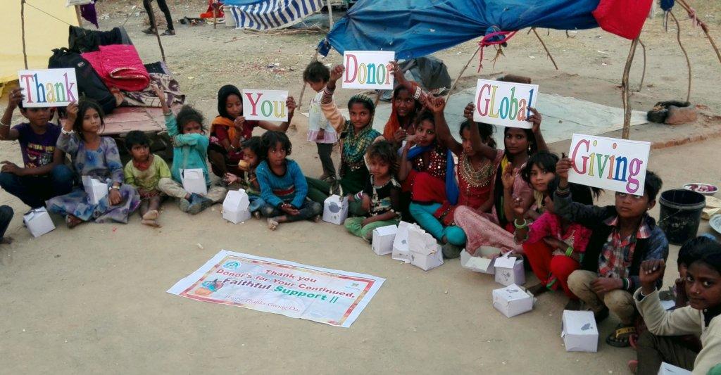 Children Says; Happy ThanksGiving Day!!