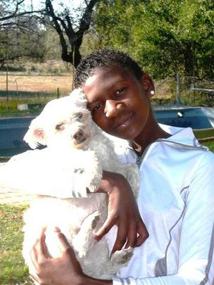 Temba and bouba our dog