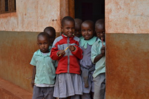 Pupils from Kiteghe Primary School