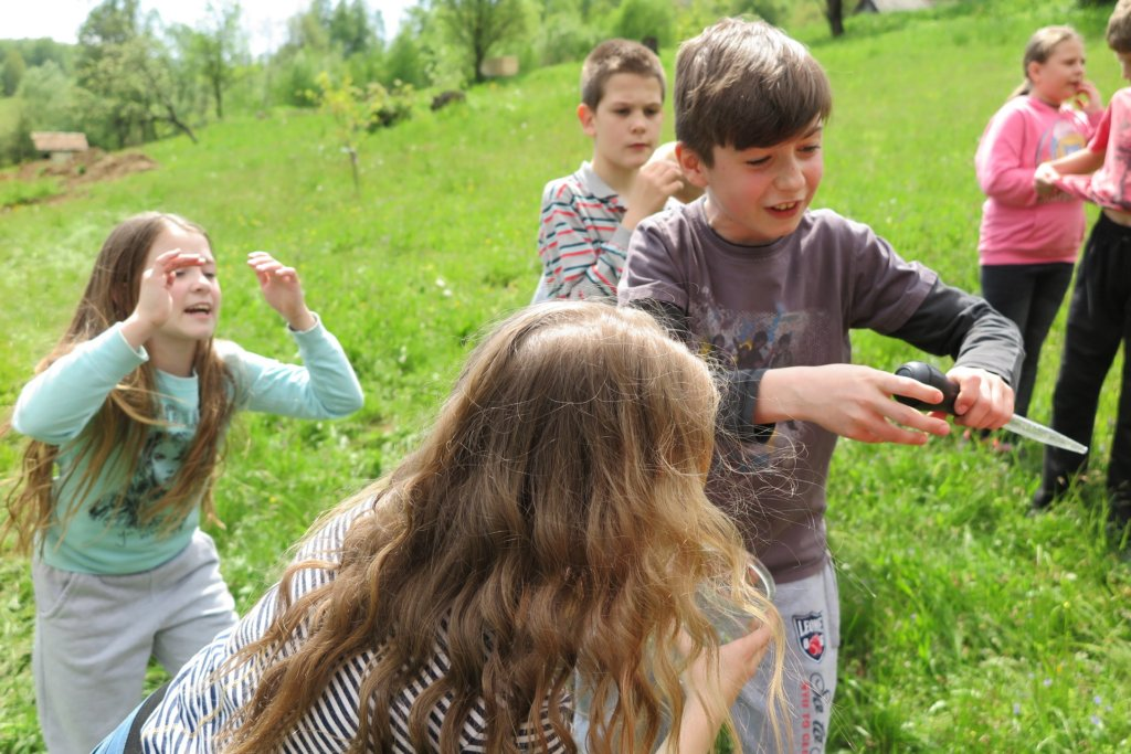 Kids learned a lot about pollinators