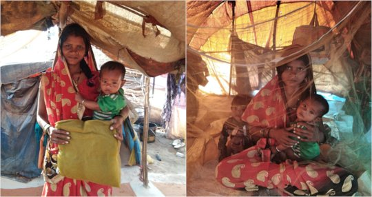 Rescue from Malaria with mosquito Nets !!